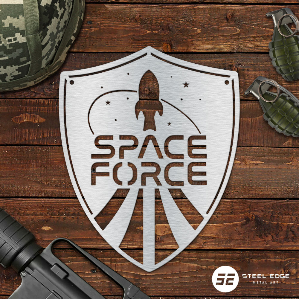 Us Space Force Crest