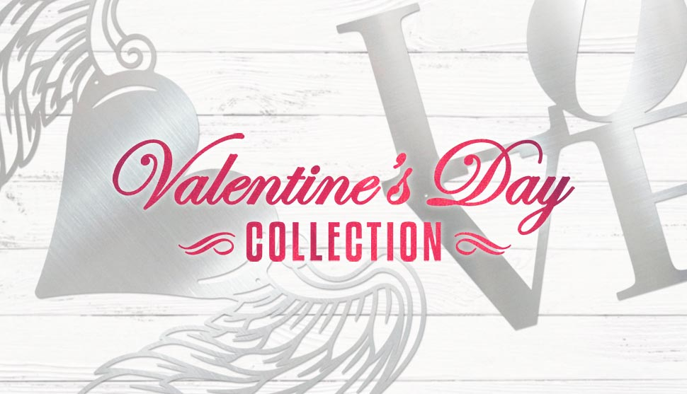 Shop New Valentine's Day Metal Art!