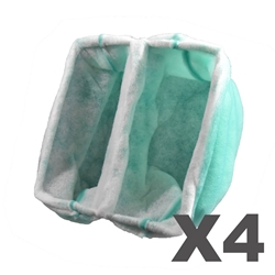 20 x 20 x 15 Pocket Booth Filter (4 pack) 20 x 20 x 15 Pocket Booth Filter