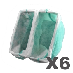 20 x 20 x 15 Pocket Booth Filter (6 pack) 20 x 20 x 15 Pocket Booth Filter