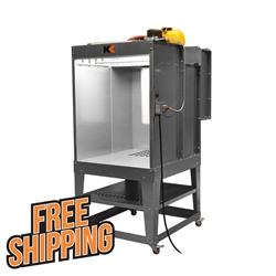 3w x 4h x 2l Powder Spray Booth powder, coating, spray, booth, 342, kool, koat, rolling