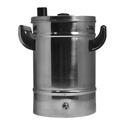 5 lb Stainless Steel Fluidization Hopper 5 lb Stainless Steel Fluidization Hopper