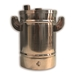 5 lb Stainless Steel Fluidization Hopper - COLO-MINI01