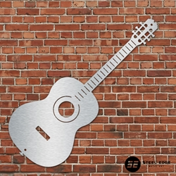 Acoustic Guitar Acoustic, Guitar, metal, art, steel, edge, music
