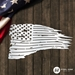 Distressed American Battle Flag - DABF