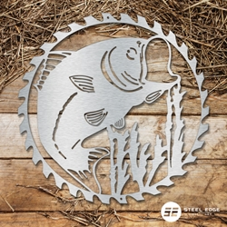 Fish Saw Blade Fish, Saw, Blade, metal, art, steel, edge