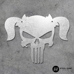 Girl Punisher Skull Girl Punisher Skull, skull, female skull