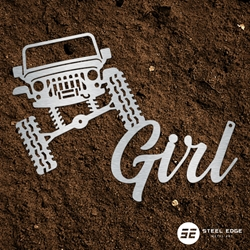 Jeep Girl Sign Jeep Girl Sign, jeep, girl, sign, rock, crawler