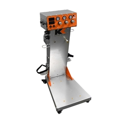 KK-HD with Industrial Gun Stand Kool, koat, powder, coating, gun, HD, heavy, duty, kat, cool, coat, koolkoat