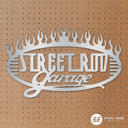 Street Rod Garage Flames Street Rod Garage Flames, street, rod, garage, flames, fire, flame