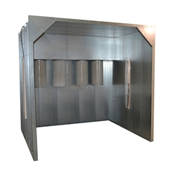 10w x 8h x 3.5l Spray Booth kool koat, powder coating, spray booth, powder booth, powder coating booth, kool koat booth, 1083.5, 10x8x3.5