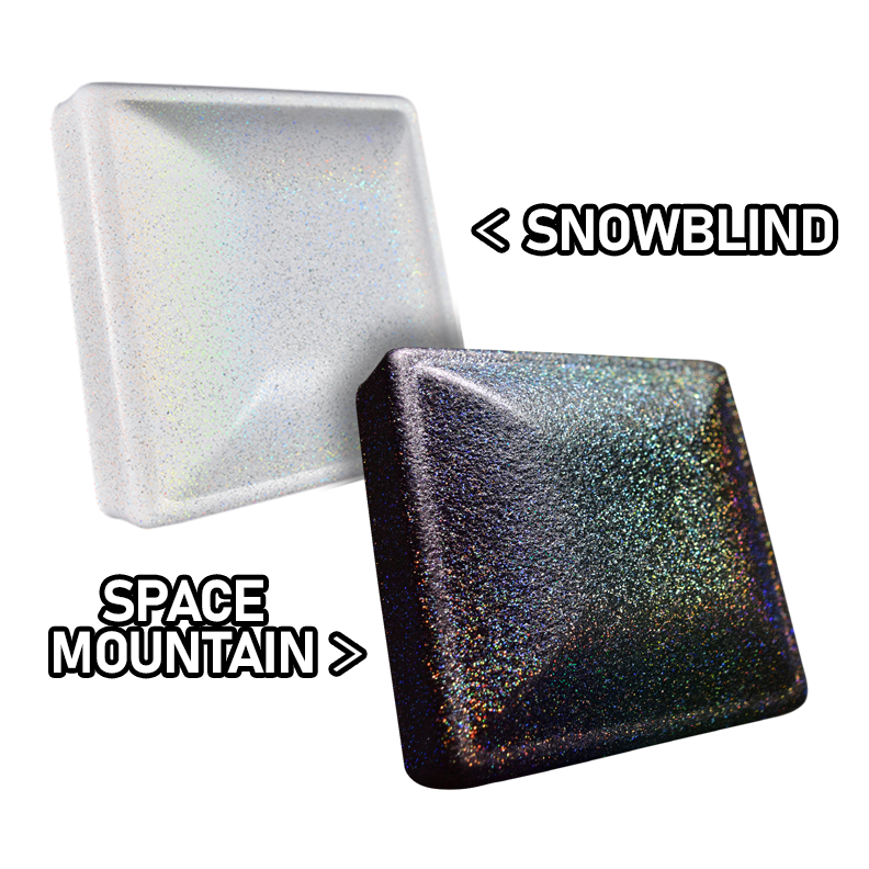 space mountain and snowblind